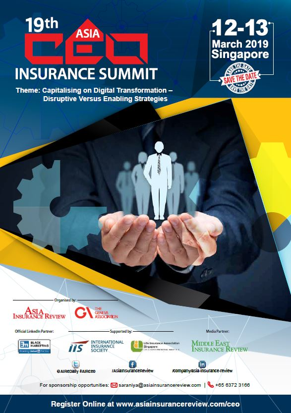 19th Asia CEO Insurance Summit Brochure