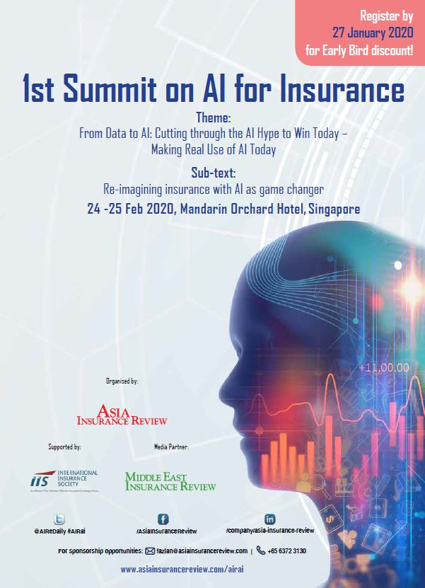 1st Summit on AI for Insurance Brochure