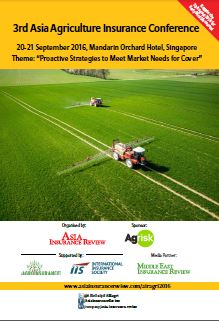 3rd Asia Agriculture Insurance Conference Brochure