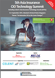 5th Asia Insurance CIO Technology Summit Brochure