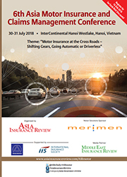 6th Asia Motor Insurance and Claims Management Conference Brochure