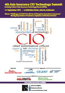 4th Asia Insurance CIO Technology Summit Brochure