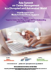 Asia Summit on Claims Management in a Disrupted and Automated World Brochure