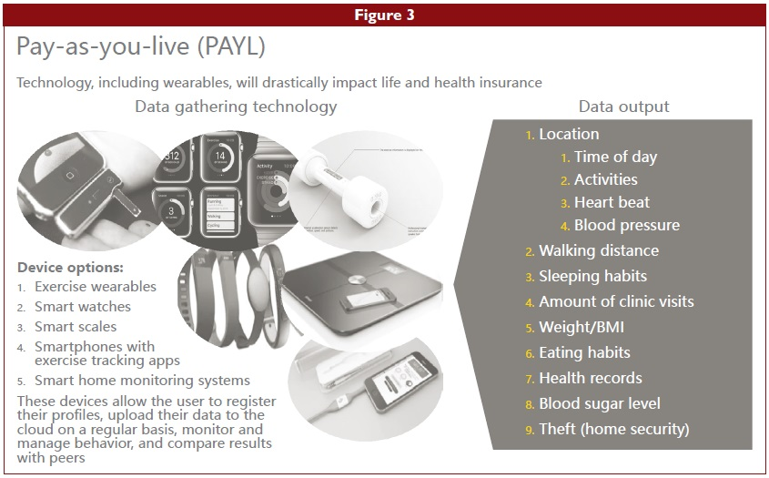 Fig 3 - Pay-as-you-live (PAYL)
