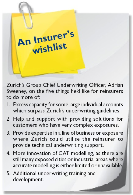 An Insurer's wishlist