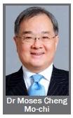 Dr Moses Cheng Mo-chi