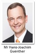 Mr Hans-Joachim Guenther, Group Chief Underwriting Officer of ACR Capital Holdings