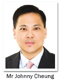 Mr Johnny Cheung, Regional General Counsel of Generali Asia