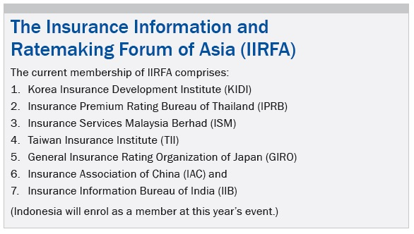 The Insurance Information and Ratemaking Forum of Asia (IIRFA)