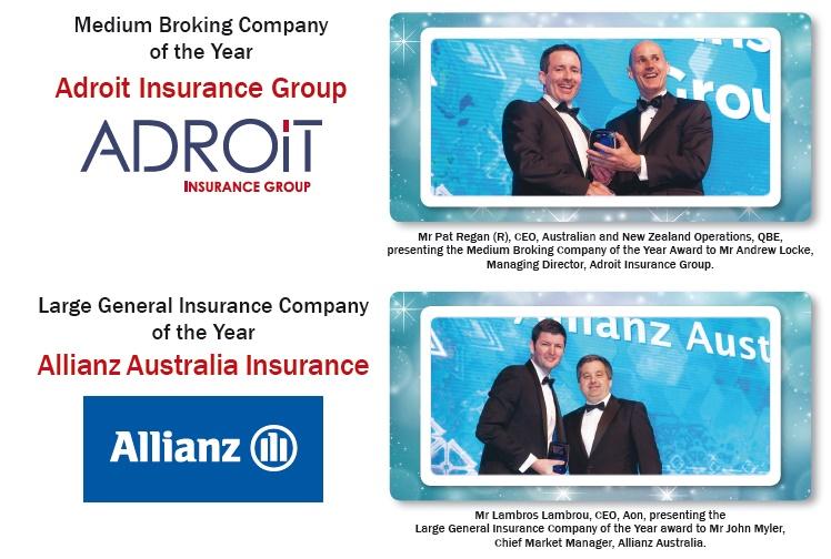 Australian Insurance Industry Awards Winners