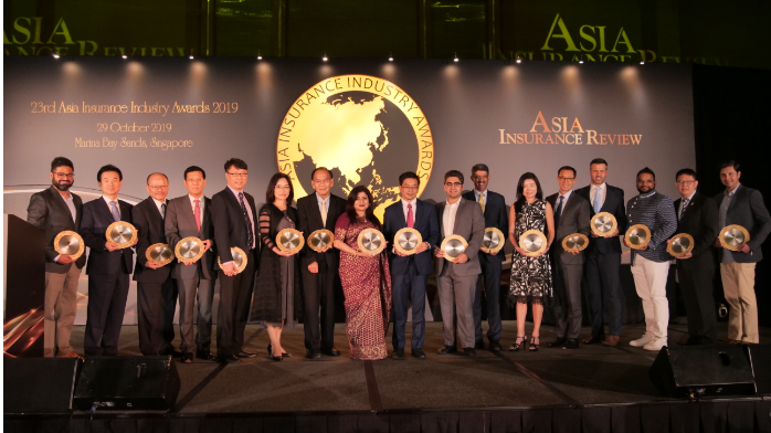 Insurance champions lauded at the 23rd Asia Insurance Industry Awards 2019