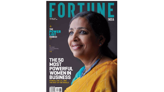 India: Alice Vaidyan named 7th Most Powerful Woman in Business in the country