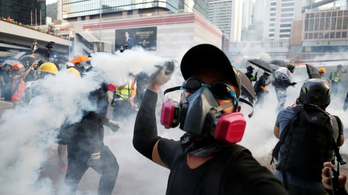 Risks from Hong Kong protests and Indian tourism