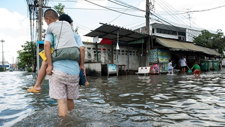 Magazine article aboutThe-need-for-insurance-to-address-flood-risk-in-Asia