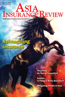 Asia Insurance Review In the February 2016 issue