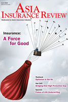 Asia Insurance Review In the June 2016 issue