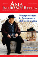 Asia Insurance Review In the September 2015 issue