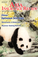 Asia Insurance Review In the September 2016 issue
